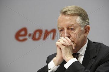 Dr. Burckhard Bergmann  Vorstandsmitglied der E.ON AG