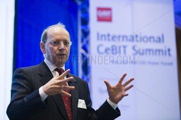 International CeBIT Summit - Ben Verwaayen  Vorstandsvorsitzender (CEO) BT Group