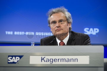 CeBIT 2007 - Prof. Dr. Henning Kagermann  Vorstandsvorsitzender SAP AG