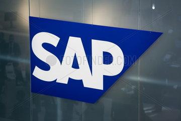 CeBIT 2007 - Logo der SAP AG