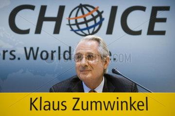 Duetsche Post AG - Dr. Klaus Zumwinkel  Vorstandsvorsitzender