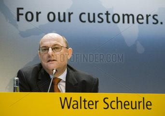 Deutsche Post AG - Walter Scheurle  Mitglied des Vorstand