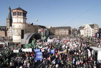 Gemeinsame Demonstration des DGB NRW und des dbb nrw am 23.03.2006 in Duesseldorf