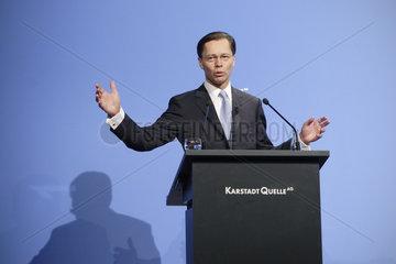 Thomas Middelhoff  Vorstandsvorsitzender der KarstadtQuelle AG