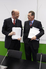 Guenter Dibbern und Rainer Fuerhaupter  DKV AG