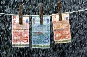 Symbolbild Geldwaesche