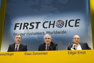 Deutsche Post AG - Bilanzpressekonferenz 2007