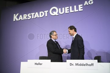 KarstadtQuelle AG - Einigung mit den Wertheim-Erben