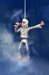 Kultfigur Wackel-Elvis   1990er