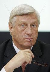 Christian Graf von Bassewitz  persoenlich haftender Gesellschafter und Sprecher der Geschaeftsleitung Bankhaus Lampe KG