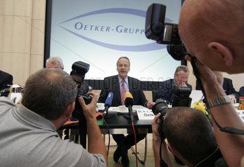 Dr.h.c. August Oetker  Vorsitzender der Geschaeftsfuehrung der Oetker Gruppe