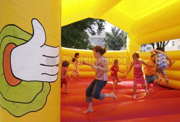 Kinder- und Nachbarschaftsfest in der Siedlung Fulerum
