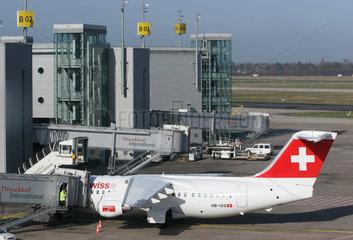 Flugzeug der Schweizer Swiss International Air Lines AG