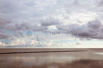 Stimmungsvolle Landschaft auf Sylt