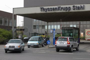 Schichtwechsel bei der ThyssenKrupp Stahl AG
