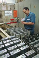 Produktion bei Continental Teves AG & Co.oHG  einem Unternehmen der Continental AG