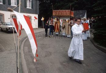 Katholischer Feiertag Fronleichnam