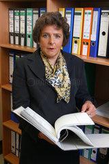 Margrit Lichtinghagen  Staatsanwaeltin bei der Schwerpunktstaatsanwaltschaft zur Verfolgung von Wirtschaftskriminialitaet in Bochum