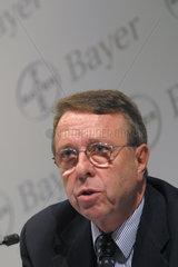 Dr. Udo Oels  Mitglied des Vorstand der Bayer AG