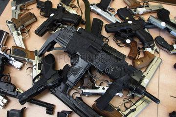Illegale Waffen