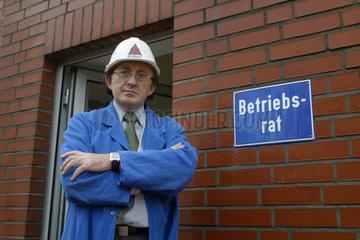 Francisco-Javier Diaz  Gesamtbetriebsratsvorsitzender der Firma Schmolz+Bickenbach Guss GmbH & Co. KG
