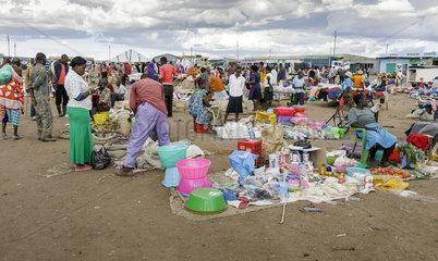 Marktszene in Kenia