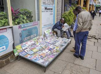 Stadtleben in Nairobi