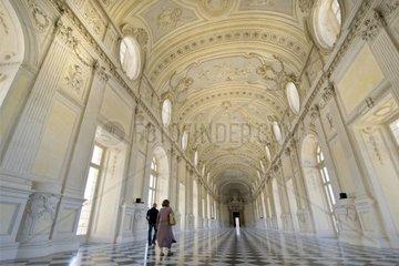 Italy  Piedmont  Reggia di Venaria  Venaria Royal Palace  Galleria Grande