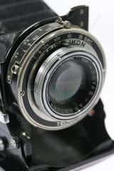 Alte Rollfilmkamera