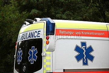 Rettungs- und Krankenwagen in Oesterreich