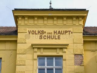 Eine gemischte Volksschule und Hauptschule in ssSterreich