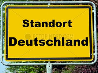 Symbolbild Wirtschaftsstandort Deutschland