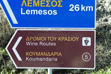 Weinstrassen Zypern