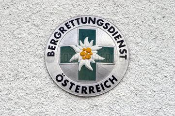Logo des Bergrettungsdienstes in sssterreich