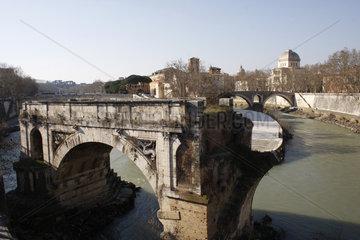 Ponte Rotto am Tiber