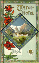 Trafoi Hotel Tirol  Werbung  1899