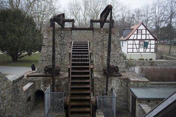 Gradierwerk in Bad Nauheim