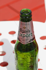 Carlsberg Bierflasche
