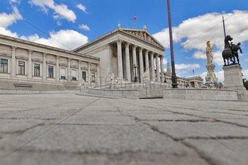 Parlament in Wien  Oesterreich  Europa