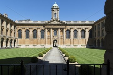 Queens College in Oxford