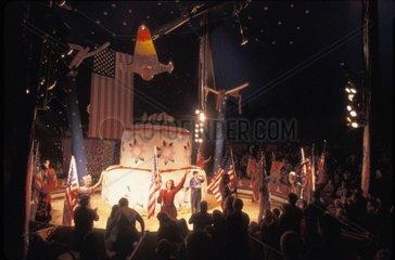 USA  Florida  Tampa  circus