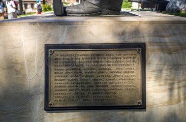 Sponsoren Statue Jose T. Merino