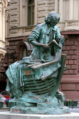 Russland  St Petersburg  Denkmal Schiffsbauer