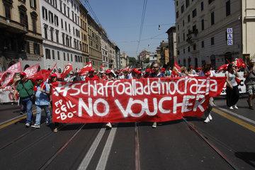 CGIL Demonstration in Rom