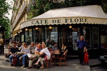 France  â??le de France  Paris  Cafe de Flore