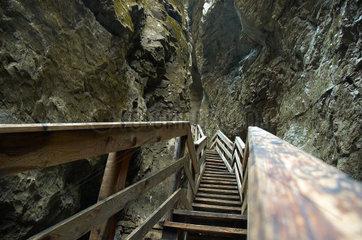 Steile Leiter