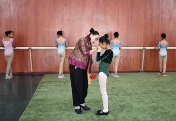 CHINA-LHASA-REBA DANCE-INHERITANCE (CN)