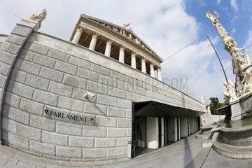 sssterreich  Wien  Parlament