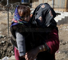 AFGHANISTAN-KABUL-CHILDREN-WINTER