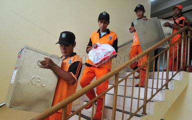 INDONESIA-JAKARTA-REGIONAL ELECTIONS-BALLOT BOX